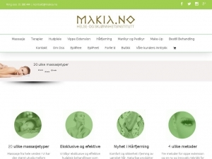 Makia - professional beauty gabinet in Oslo